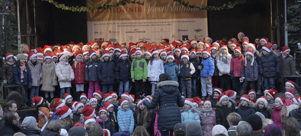 Chor auf dem Adventsbummel